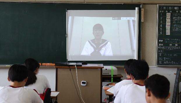 浅羽中学校のオンライン生徒総会